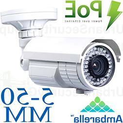 USG 3MP 2048×1536 IP Bullet Security Camera: PoE, 5-50mm Lo