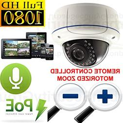 USG 1080P 2MP HD IP PoE Motorized Lens Auto-Zoom & Auto-Focu