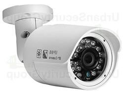USG Sony+TI 5MP 2592x1920 IP Bullet Security Camera: PoE + 3