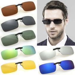 uv400 sunglasses polarized clip on flip up