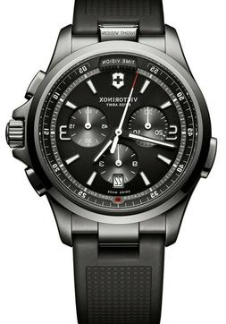 VICTORINOX AUTHENTIC NIGHT VISION MEN'S SWISS MADE SS  WATCH