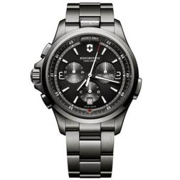 Victorinox Swiss Army Men's Watch Night Vision Black Dial Br