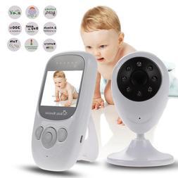 Video Baby Monitor LCD Infant Surveillance Wireless /w Night
