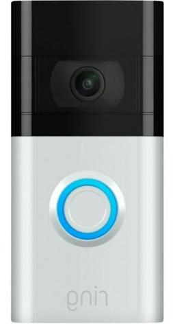 Ring - Video Doorbell 3 - Satin Nickel/Venetian Bronze | Bra