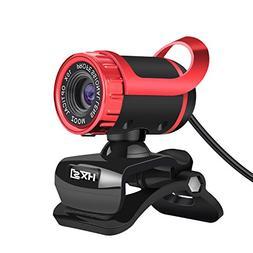 HXSJ Webcam 480P HD Video Web Camera HD with Microphone USB