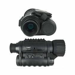 Bestguarder WG50 Monocular Camera Camcorder Digital Night Vi