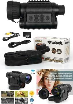 Bestguarder WG-50Plus 6x50mm WiFi Digital Night Vision Infra