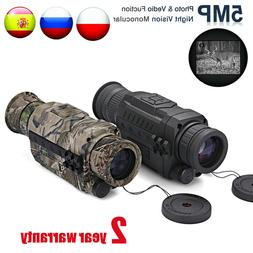 WG540 Infrared Digital Night Vision Monoculars with 8G TF ca