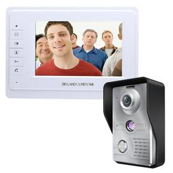 """Wholesale Home Wired 7"""" TFT White Screen Video Door Phone In"""
