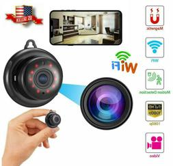 Mini Wireless WIFI IP Camera HD 1080P Smart Home Security Ca