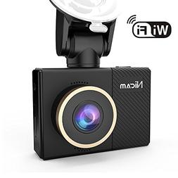 WiFi Dashboard Camera, 1080P Dash Cam Video Recorder with 2.