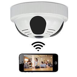 WiFi Detector Hidden Spy Camera – Bysameyee 360 Degree Pan