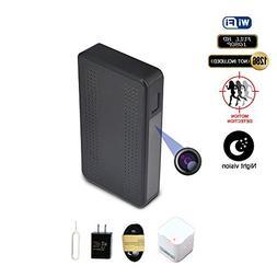 Fuvision WiFi Hidden Camera Black Box Design with 160 Degree