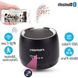 MINGYY HD 1080P Wifi Hidden Camera Bluetooth Speaker Camera