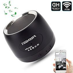 QUANDU WiFi Hidden spy camera hidden camera speaker Night Vi