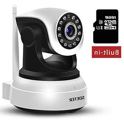 Victure WiFi IP Camera 720P HD Wireless Indoor Home Security