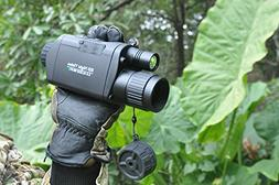 Bestguarder WiFi Digital Night Vision Monocular, 3.5-10.5 x