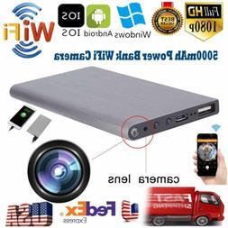 Wifi Power Bank SPY Hidden Camera 1080P HD Night Vision Reco