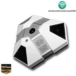 Wi-Fi Spy Cameras Smoke Detector Gas Sensor Alarm CBINHUANG