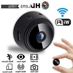 Wifi Spy Camera Wireless Mini Home Security HD 1080P Cam Nig