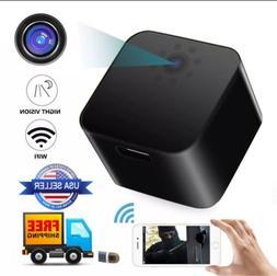 WiFi LAN USB Wall Charger camera full HD1080P Motion Night V