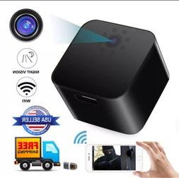 WiFi USB Wall Charger  camera full HD1080P Motion Night Visi