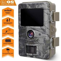 AGM Wildlife Camera with Night Vision Motion 16 MP 1080P, Ca