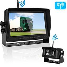 Emmako Digital Wireless Backup Camera and 7'' Monitor System
