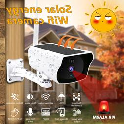 Wireless HD 1080P Solar Power WiFi IP Outdoor Home Security