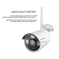 SMONET 720P Surveillance CCTV Waterproof Outdoor Indoor Bull