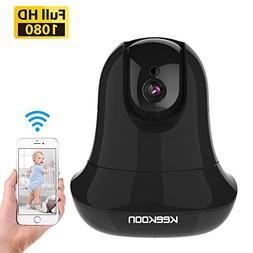 KEEKOON HD 1080P Wireless IP Camera WiFi Baby Pet Monitor Bu