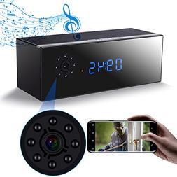 Wireless Music Hidden Camera Speaker, WiFi HD 1080P Camera C