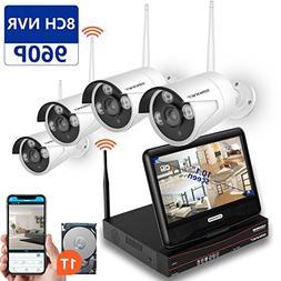 SMONET Wireless Security Camera System,