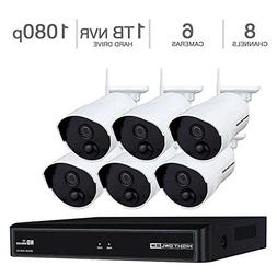 Night Owl 8-Channel 1080p Wireless Smart Security Hub with 1