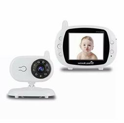 Wireless Video Baby Monitor with Digital Camera, 3.5 Inch Sc