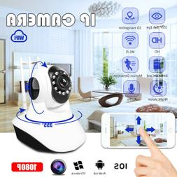 Wireless Wifi Baby Pet Monitor Camera Panoramic Night Vision