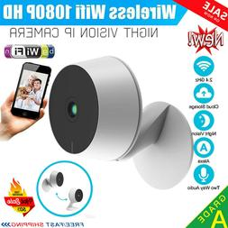 Wireless WiFi IP Security Camera 1080P HD Indoor Night Visio
