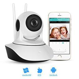 ABAI HD 720P Wireless WiFi Pet Baby Monitor IP Security Surv