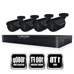 Night Owl WM-841-2MP 8 Channel HD Video Security DVR with 1