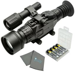 Sightmark Wraith HD 4-32x50 Digital Riflescope with 4 AA's,