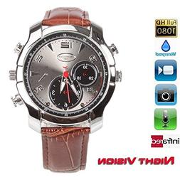 fannuoyi Wrist Smart Watch Camera Full HD 1920x1080P IR Nigh