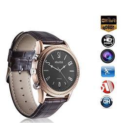 Miebul 16GB Wrist Smart Watch Camera HD 1080P Infrared Night