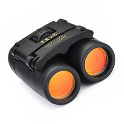 Qiorange Outdoor Travel 8 x 21 Zoom Mini Binoculars Telescop