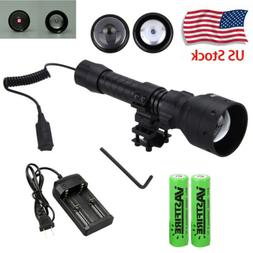 Zoomable 10W/7W/5W 850/940nm IR Infrared Light Flashlight Ni
